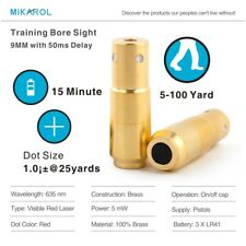 9mm Laser Ammo Laser Bullet Laser Cartridge for Dry Fire Training and Shooting 2