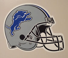 """Detroit Lions FATHEAD Official Team Helmet Graphic 18"""" x 13"""" NFL Wall Decal"""