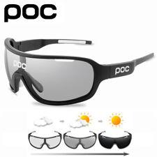 POC 5 Lens Cycling Sunglasses Outdoor Sport Photochromic Eyewear Men Women Glass