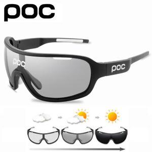 POC 5 Lens Cycling Sunglasses Outdoor Sport Polarized  Eyewear Men Women Glass