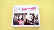 OLIVIA RUIZ - 2 ALBUMS CD J'AIME PAS L'AMOUR ET LA FEMME CHOCOLAT - NEUF