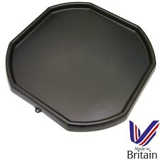 1 x Black Plastic Mixing Tray Kids Play Fun Sand Water Builders Spot for Cement