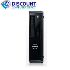 Fast Dell Vostro 260s Desktop Computer PC Core i3 4GB 250GB Windows 10 Home WiFi
