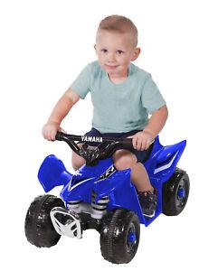 Yamaha Electric Ride-On Mini Quad Bike 6 Volt Blue Boys ATV Style