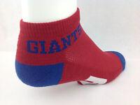 New York Giants For Bare Feet Money Ankle Socks Red