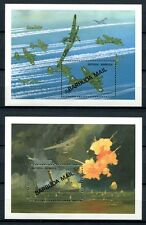 Barbuda 1991 2. WWII World War Planes Airplanes Block 174-175 MNH