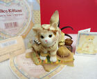 Calico Kittens IT'S HARD TO TAME A WILD HEART Feathers Pillows Cat Figurine