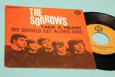 "SOROWS 7"" PRENDRE UN HEART 1°ST ORIG ITALIE 1965 EX+ TOP RARE DEBUT SINGLE"