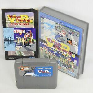 VIRTUA RACING V.R. Mega Drive Sega 2348 md
