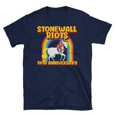 LGBTQ Gay Pride Stonewall Riots 50th Anniversary Short-Sleeve Unisex T-Shirt