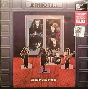 Benefit Jethro Tull 180 Gram Limited, Numbered 2013 Record Store Day Edition New