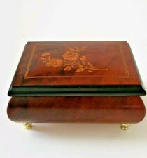 Torna A Surriento Wood Inlay Music Box