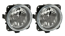 1999-2004 Mustang Roush Stage 1,2,3 Complete Clear Fog Lights H10 Bulbs - Pair