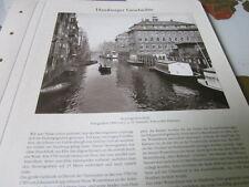 Archivio Amburgo storia 2 2090 Uomo scavare Fleet 1906 foto Hamann