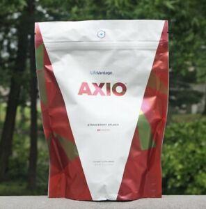 LifeVantage AXIO Strawberry Splash, 30 PACKS - Exp 05/22/2023 ** NEW FLAVOR **