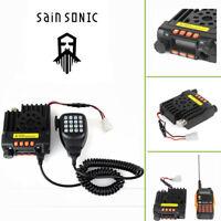 EU DHL Sainsonic Mini GT-890 VHF/UHF Car Radio Transceptor Dual Band 25W 200CH