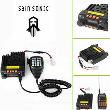 Sainsonic Gt-890 V/u CTCSS 136-174/400-480mhz Dual Bande 25w mobile car Radio