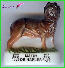 """Feve Les Races de Chien Dog Edition Atlas """" Le Matin de Naples """"   #A17"""