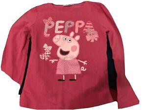 PEPPA PIG T-Shirt ORIGINALE 7 Anni Maglietta Tshirt
