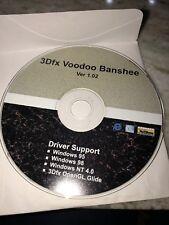 3dfx voodoo banshee ver 1:02 Cd
