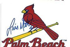 luis mateo Signed autographed 4x6 photo Cardinals Minor league