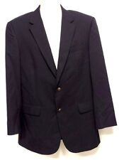 Jos. A. Bank Navy Sport Coat Blazer 42L 100% Wool
