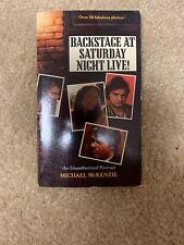 1980 BACKSTAGE AT SATURDAY NIGHT LIVE Book john belushi