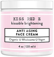 Anti Aging Face Cream. Best Anti Wrinkle Moisturizer For Face, Hands, Neck.