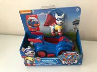 PAW Patrol Dog Apollo's Pup Mobile Figure Vehicle Model Car Kids Toy New VHTF