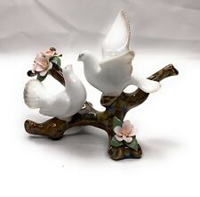 Lladro Doves on a Cherry Tree Brand New #8422 with Wooden Stand and Original Box
