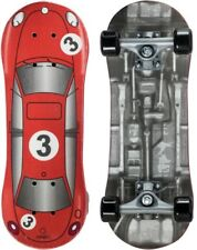 Red Racer Kids Skateboard-Wood Pressed Deck, Plastic Trucks and Wheels