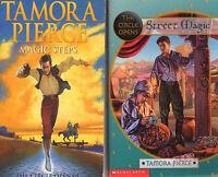 Complete Set Lot of 4 The Circle Opens books by Tamora Pierce YA Magic Steps