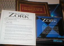 RETURN TO ZORK PC GAME, COMPLETE, EXCELLENT CONDITION, INCLUDES ENCYLOPEDIA