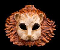 Máscara Veneciana León de Papel Maché Disfraz Colección -1887