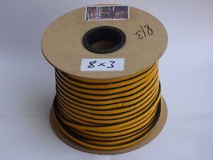 3,5€/m Ofendichtband 2m Kamindichtung Ofendichtung selbstklebend 8x3mm Kamin