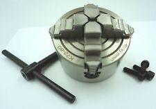 80 mm 4 mandíbula independiente Torno Chuck (Ref: CH480) De Chronos