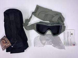 Revision Desert Locust Ballistic Goggles, US Military APEL Eyewear, Foliage