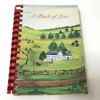 A Pinch Of Love 1985 Cookbook by The Women's Auxiliary Rockville MD