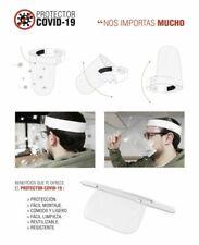 Máscara facial de Seguridad pantalla protectora Anticontagio   envio 24/48 horas