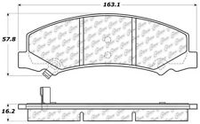 Ceramic Disc Brake Pad-C-TEK Ceramic Brake Pads Front Centric 103.11590