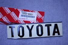 1970-1975 FJ40 Land Cruiser Rear Quarter Emblem - 75450-60021 Genuine Toyota