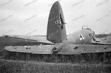 Negativ-Luftwaffe-he 111-Picardie oise aisne-1940-Wehrmacht-34.ID-2.WK-14