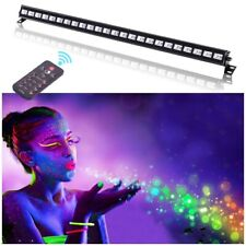 U'King 72W UV LED Black Light Wall Wash Light DMX DJ Disco Stage Lighting+Remote
