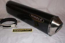 "Hindle 20"" long for 2"" pipe, Evo Carbon Fiber Muffler Supersport Left- 75-2020CL"
