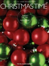 Christmas Time 7 Mid to Later Intermediate Piano Solos NEW 000416713