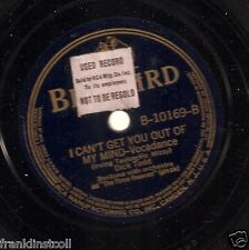 Dick Todd on 78 rpm Bluebird B-10169: Little Sir Echo/I Can't Get You Out of My