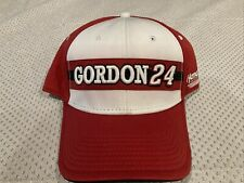 Hendrick Motorsports Jeff Gordon 24 Nascar Red White Baseball Hat Ball Cap B1