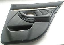 BMW E39touring turtafel hinten rechts leder schwarz,rear right door card leather