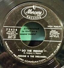 """Freddie & Dreamers Mercury 72428 """"DO THE FREDDIE"""" (GREAT R&R) 45 SHIPS FREE"""