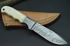 Bowie Damastmesser HANDARBEIT Damast Jagdmesser Messer Deutscher Händler XL #55